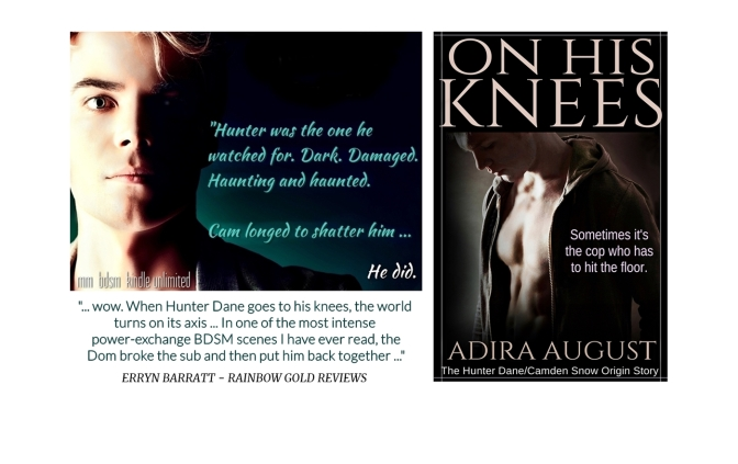 ON HIS KNEES – #1 in the Hunt&Cam4Ever series. The night that changed two lives forever.