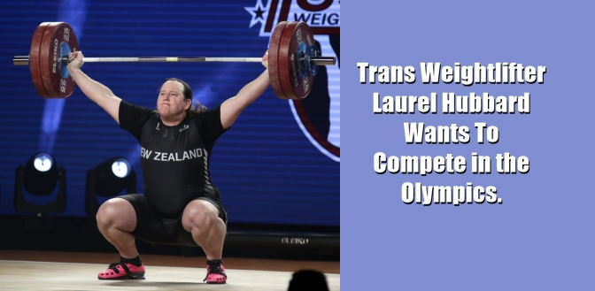 TRANS WOMEN IN THE OLYMPICS